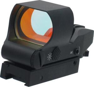 RED DOT GUN SIGHT -- RAPIDLY ACQUIRE A TARGET - TAKE THE SHOT AND SCORE A HIT !!