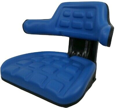 Suspension Seat Ford Tractor Blue 20002600261030004000360046003910icp
