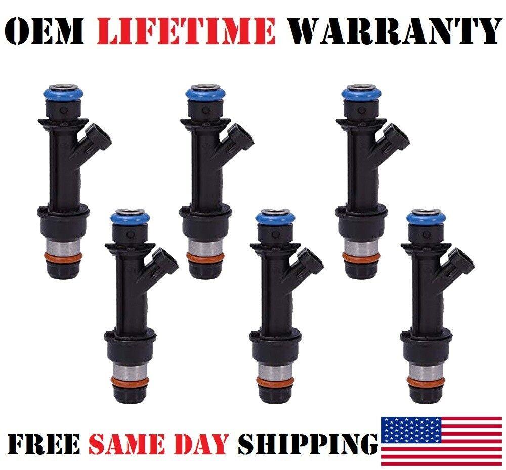 OEM Delphi Fuel Injectors Set 6 25323972 Rebuilt /& Flow Matched in the USA!