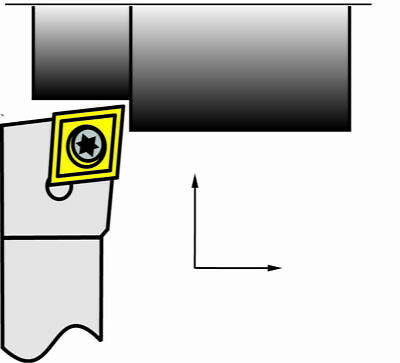Toolmex Sclcr 38 Shank Rh Toolholder Ccmt Inserts New