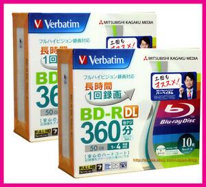 20-Verbatim-3d-Bluray-Disc-FREE-Micro-Fiber-Cloth-50GB-BD-R-Dual-Layer-Blu-ray