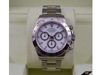Rolex Daytona White Dial - Chronograph SW7750