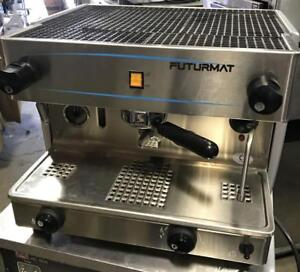 Futurmat Espresso Machine - electric or propane - like new - FREE SHPPING