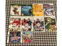 Xbox One, Nintendo Wii and Nintendo DS Games