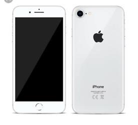 iPhone 8 256gb White silver UNLOCKED Apple warranty