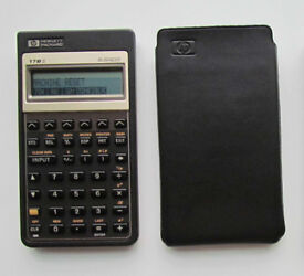 Hewlett Packard HP 17Bii business calculator