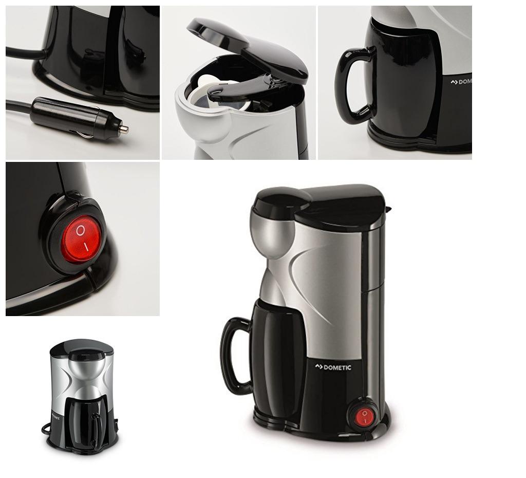 1-Tassen Kaffee-Maschine 12 Volt für Anschluss PKW Coffee-Maker Zigarettenanzü