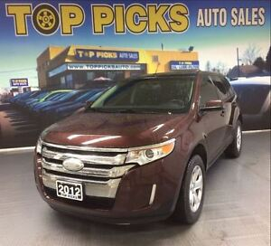 2012 Ford Edge SEL, AWD, NAVIGATION, SUNROOF, LOW KMS!