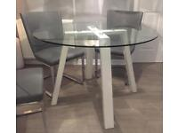 Brand new glass dining table £110 ONO