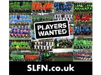 FOOTBALL TEAMS LOOKING FOR PLAYERS, 1 DEFENDER, WINGER NEEDED FOR SOUTH LONDON FOOTBALL TEAM: ref92