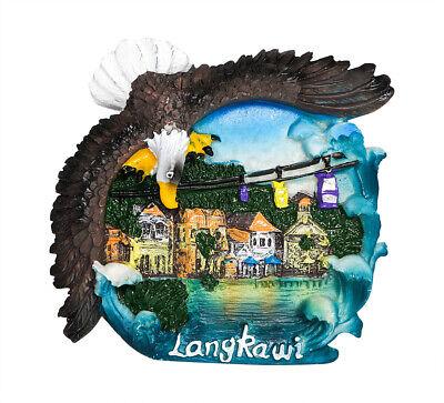 3D Resin Fridge Magnet Travel Tourist Souvenir Memorabilia - Langkawi, Malaysia