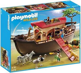 PLAYMOBIL (5276). Noahs Ark. UNOPENED/NEW RRP£60 for sale £40