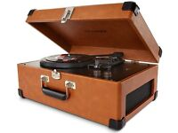 Record Player /// New /// Crosley Keepsake USB Portable Turntable / New / Boxed