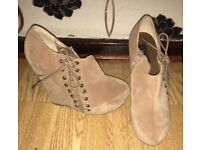 Suede Wedges New