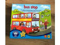 Bus stop children's game orchard toys