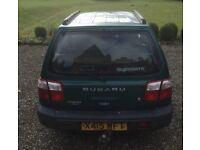 Subaru Forester 5door Estate, SORN but still serviceable, MOT until 25-10-18