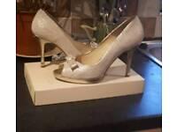 Marian peep toe shoes