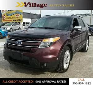 2011 Ford Explorer Limited Back-up Camera, Leather Interior,...