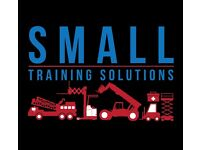 Small Training Solutions provide Forklift, HIAB, Telehandler, MEWP, Initial and Periodic DriverCPC
