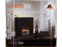 Electric fireplace Warmlite Canterbury