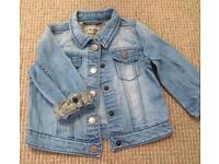 Next denim Jacket 12-18months