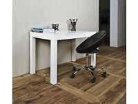 ABC Home Scandinavian Style Desk, White