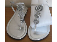 Ladies sandals, size 6, some NEW or hardly worn. £3 - £6 a pair.