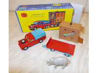 Vintage Corgi Chipperfield Circus models and boxes for sale - Job Lot