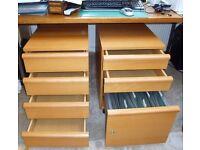 Under desk drawers / filing cabinet (IKEA)