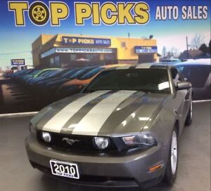 2010 Ford Mustang GT COUPE, LEATHER, V8, AUTOMATIC!