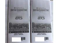 2 Tickets PHIL COLLINS Plus Blondie, Mike & The Mechanics, Hyde Park London 30th June