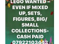 🌷Lego Wanted - Even if mixed up - Large collections,figures,Cash Paid🌷