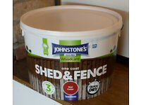 Johnstone's Shed and fence stain - Red Cedar