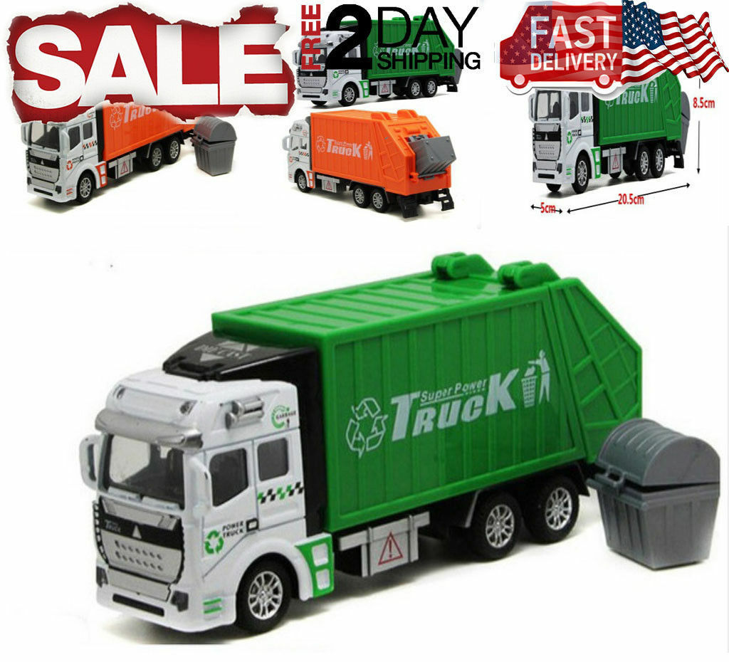 Toys for Boys Truck Rubbish Garbage Car 4 5 6 7 8 9 Year Old Kids ...