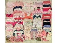 Baby Girls 0-3 Months bundle of 97+ items