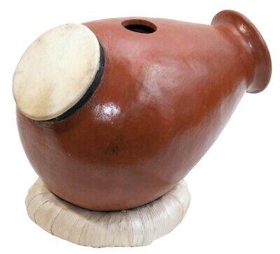 Udu Tontrommel Flaschenform Haut Oberseite Ziegenfell Claydrum Percussion Urdu