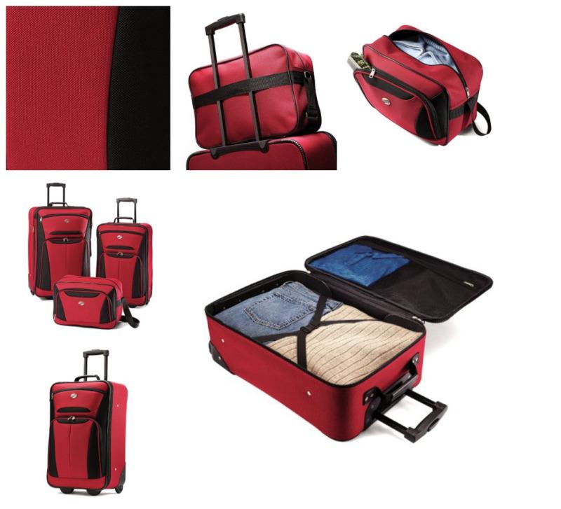 Tenacity 3 Piece Set - Luggage - Exclusive to eBay Flight trip and storage plane