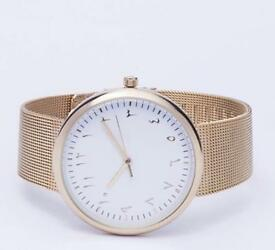 Watch ladies in Gold colour