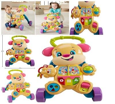 AMAZING Toys Baby Fisher-Price Learn Smart Stroller Music Wa