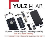 IPHONE, IPAD REPAIRS AND UNLOCKING(MOBILE WORKSHOP THAT COMES TO YOU) 12 MONTH WARRANTY
