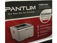 Brand new printer for sale - Pantum 3100dn mono laser printer