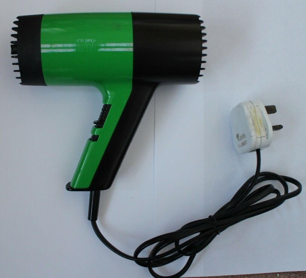 Hairdryer, Clairol 1200. Home or travel