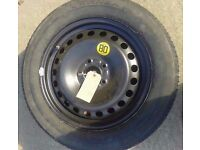 "MK2 FORD FOCUS 16"" STEEL WHEEL WITH TYRE"