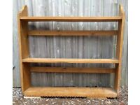 Victorian antique pine shelves