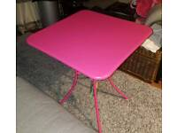 Pink Garden Table (New with tags)