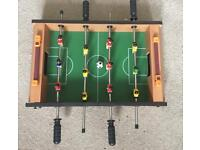 Mini table football game