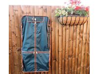Antler 3 suit travel carrier - fabric with leather trim (unused)