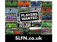 FOOTBALL TEAMS LOOKING FOR PLAYERS, 2 DEFENDERS NEEDED FOR SOUTH LONDON FOOTBALL TEAM: : rwf92h