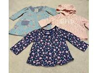 Baby Girls 0-3 months bundle to include GAP Next TU Excellent Condition