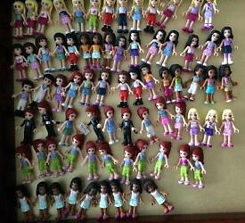 Lego friends figures lots to choose from